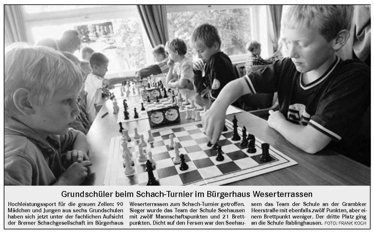 schülerturnier schach januar 2018